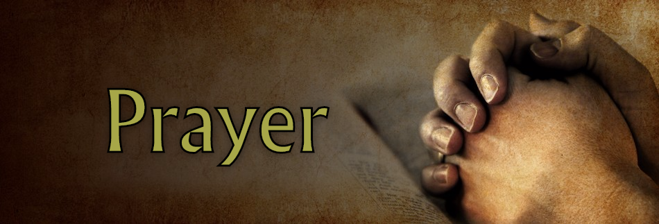 Prayer Website Banner